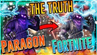 Skins Paragon no Fortnite EPIC LIES e é preguiçoso