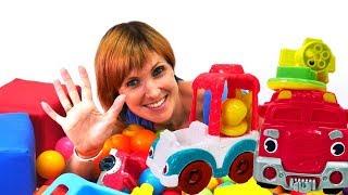 Видео для детей #ВеселаяШкола. Маша Капуки Кануки, Грузовичок Лева и Play Doh: изучаем буквы ВЕСЕЛО!