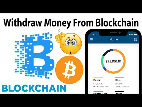 How To Withdraw Amount From Blockchain Account | Blockchain.com Tutorial