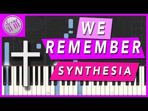 "[SYNTHESIA] - ""We Remember"" - Marty Haugen || [PIANO KARAOKE INSTRUMENTAL]"