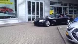 Mercedes slr exhaust sound
