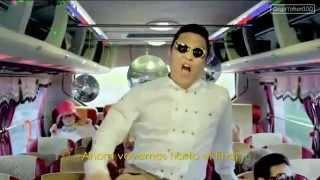 Gangam style teledysk (tekst piosenki w opisie)