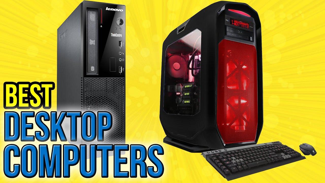 10 Best Desktop Computers 2016