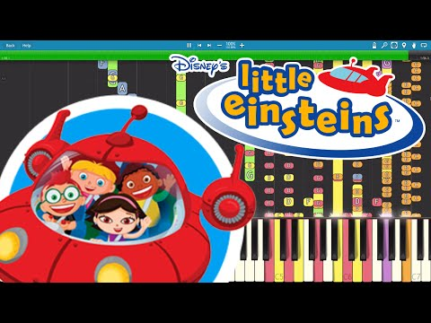 IMPOSSIBLE REMIX - Little Einsteins Theme - Piano Cover 886Beatz - Trap Remix