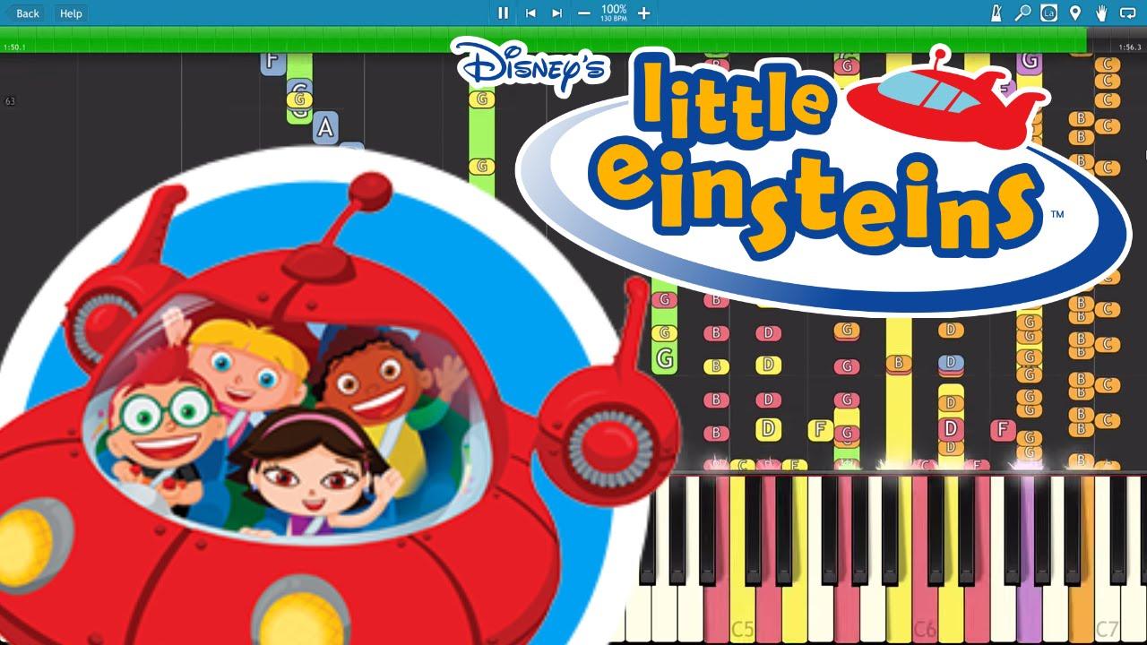 Impossible Remix Little Einsteins Theme Piano Cover 886beatz