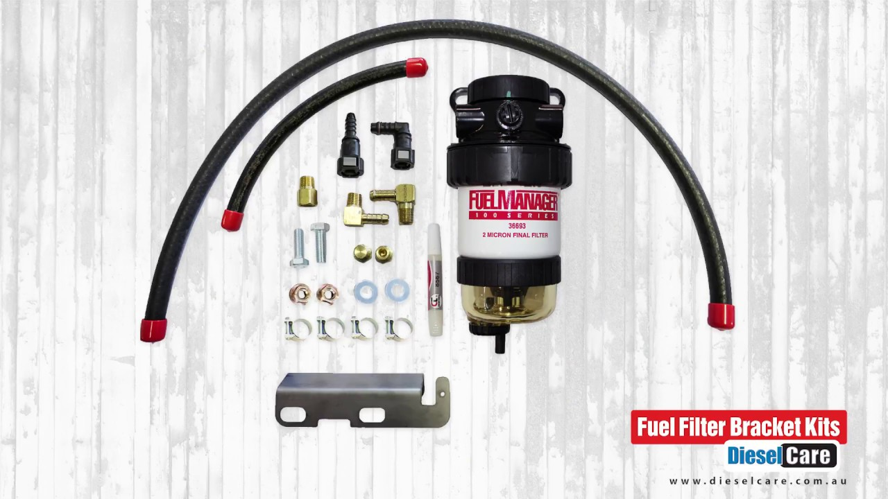 Fuel Filter Bracket Kits To Suit A Wide Range Of Vehicles Youtube
