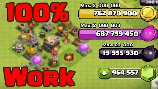 UPDATED CLASH OF CLANS PRIVATE SERVER WORKING JUNE 2017 IOS HACKED UNLIMITED GEMS NO SURVEY