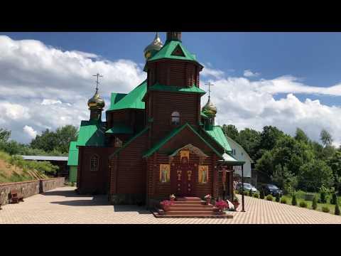 ЗАКАРПАТЬЕ. Литургия в Сергиевой пустыни Хустской епархии.