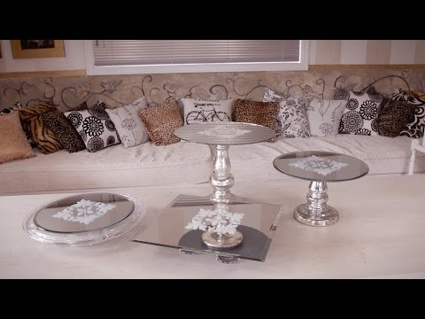 How to make a Mirror Cake-Stand