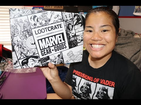 2017 May Marvels Gear + Goods Unboxing Cosmic Party