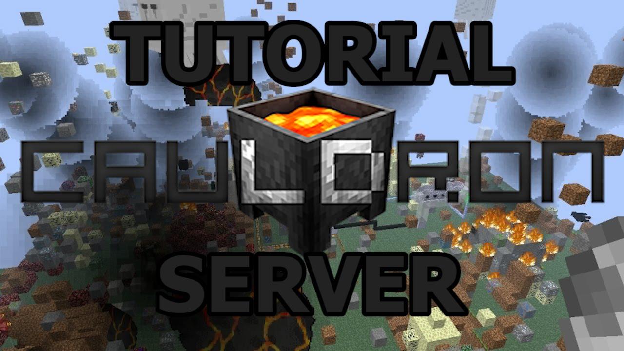 Tutorial Local Cauldron Server Better FPS For Bevo Tech Pack And - Minecraft bevo server erstellen