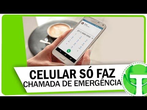 Celular só faz APENAS CHAMADAS DE EMERGÊNCIA? APRENDA RESOLVER!