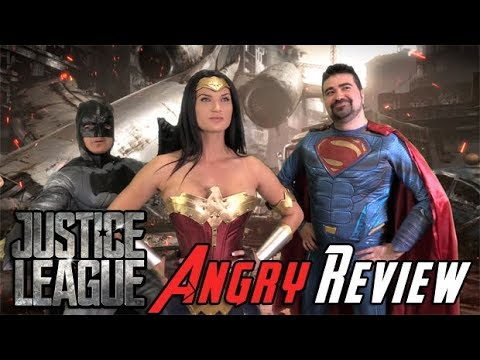 Justice League Angry Movie Rev justice league review