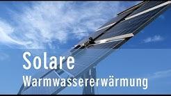 Solare Warmwassererwärmung