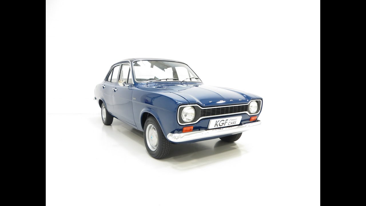 A Truly Delightful Ford Escort Mk1 1300L with Just 29,855 Miles ...
