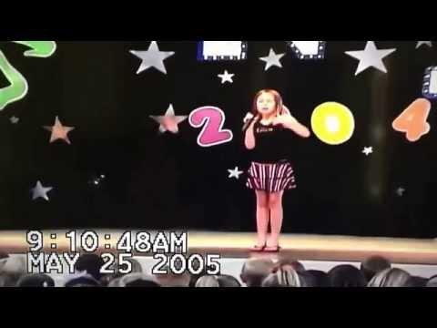 RaeAnne Gwin Elementary School Talent Show age 9