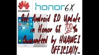Honor 6X Oreo Update Tamil