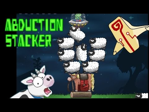 Abduction Stacker Walkthrough levels 1 - 30 ALL GOLD 30/30