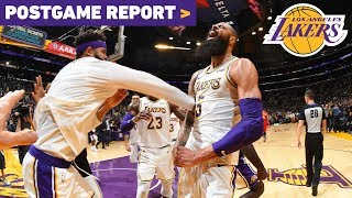 Postgame Report: Tyson Chandler