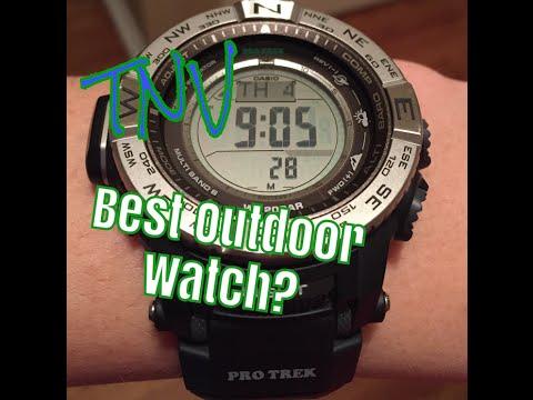 a25c89581a6 The Best Outdoor Watch - Casio Pro-Trek PRW 3500 - YouTube