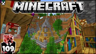 I Created An EPIC Library! | Minecraft Survival Let's Play