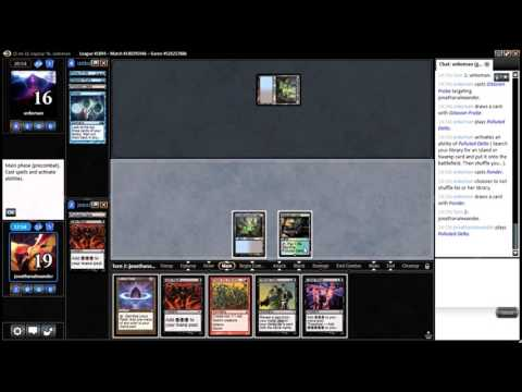 #thedailywars #11 - Legacy Storm League Match 4 vs. Grixis Control