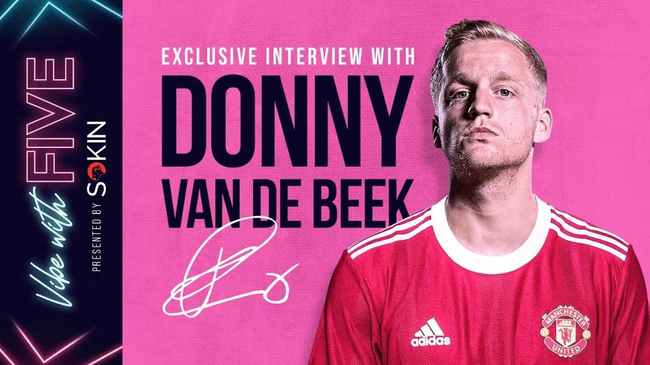 Download EXCLUSIVE Interview: Donny van de Beek | His Future At United | More Game Time? | Vibe With FIVE