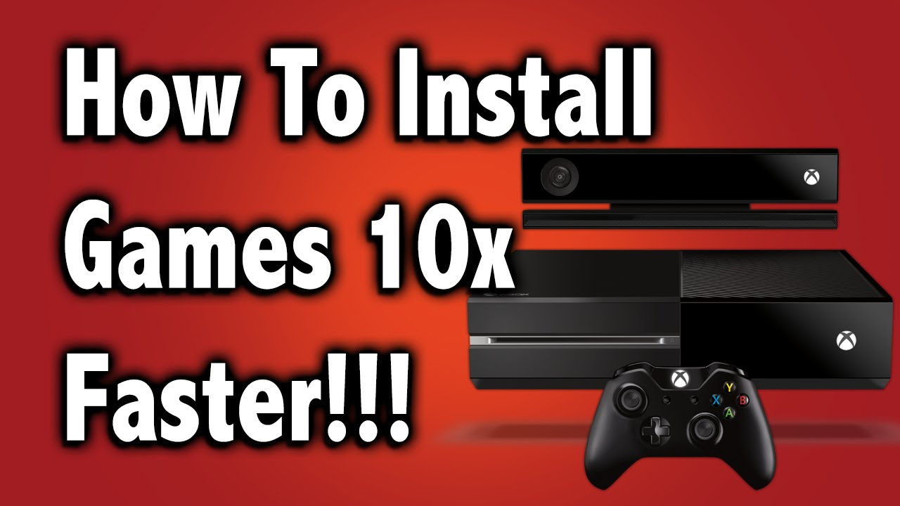 xbox one how to download games faster