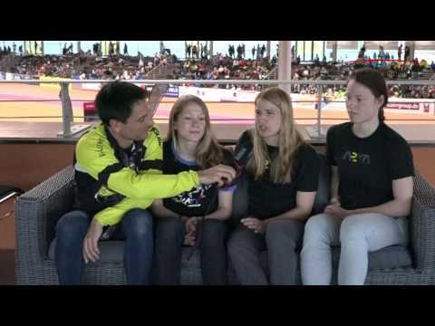 Interview agi 2017 World Games Teilnehmer Damen Laethisia Schimek, Mareike Thum, Josie Hofmann