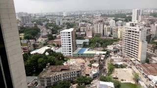 Dhaka City 360 degree Bird's eye view from motijheel : ঢাকা শহর আকাশ থেকে তোলা