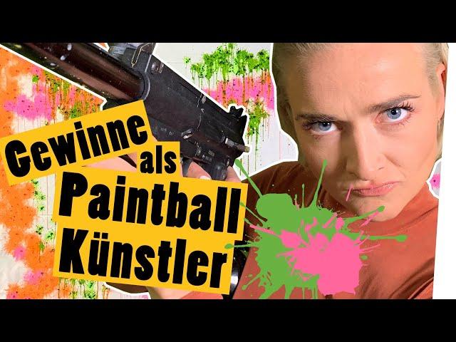Challenge: Male das Paintball-Bild eines Promis! *Mit euch als Jury    Das schaffst du nie!