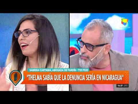 Sabrina Cartabia, abogada de Fardín: 'Thelma decidió hablar cuando