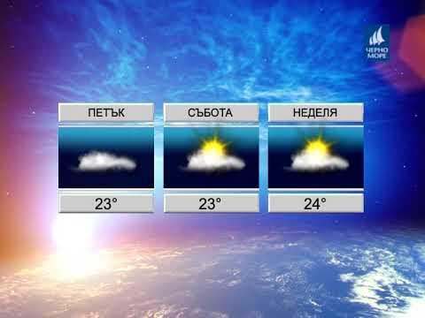 ТВ Черно море - Прогноза за времето 21.09.2017 г.