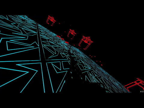 Someone show Disney this Tron-themed roller coaster sim right now