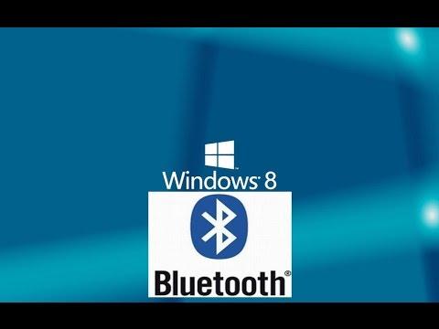 Как включить Bluetooth на ноутбуке с Windows 8