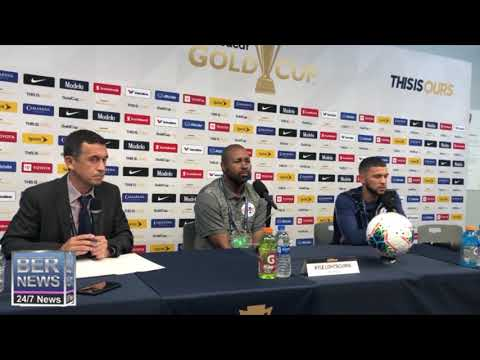 Nahki Wells At Gold Cup Press Conference, June 19 2019