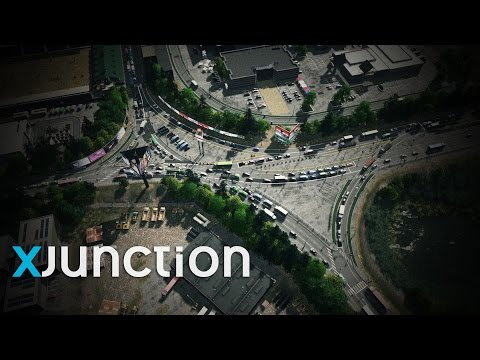 Cities: Skylines | Realistic Traffic Flow on the xJunction
