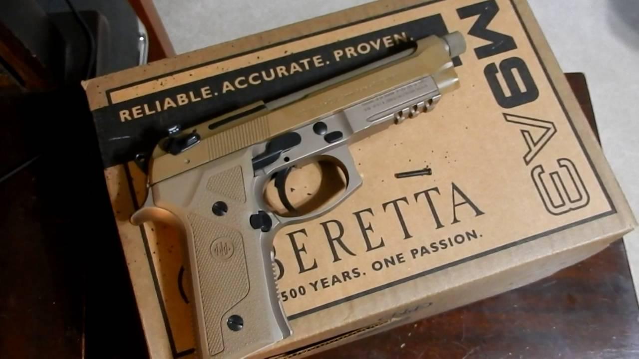 Beretta M9A3 trigger pin failure review