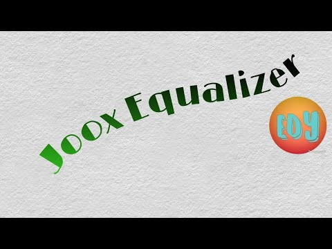 Equalizer that works with JOOX