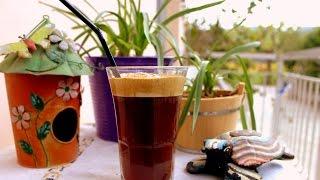 Фраппе. Холодный кофе по-гречески
