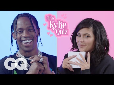 Kylie Jenner Asks Travis Scott 23 Questions | GQ: It's the Kylie Quiz, in which Kylie Jenner grills her boyfriend Travis Scott all about herself, their daughter Stormi, and the Jenner-Kardashian clan. Can Travis get all 23 of Kylie's questions right?