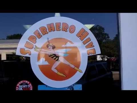 Superhero Hive Comic Shop in Jacksonville FL Riverside with Pinball & Arcade Games on 11/4/2016