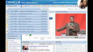 Siebel CRM On Demand Web 2.0 Features Demo