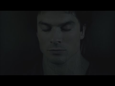 The Vampire Diaries: 7x15 - Damon's goodbye to Bonnie and he goes in a coffin next to Elena [HD]