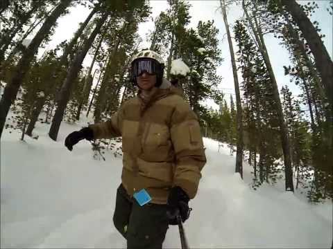 Snowboarding at Discovery Ski Area (Montana) - March 8, 2014