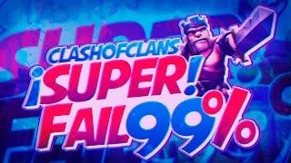 Clash of Clans | Super Fail 99% + Botinaco + Atacazo | La mejor aldea!! | En español