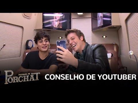 Enem: Kéfera, Castanhari e João Guilherme dão conselhos valiosos na Van do Porchat (ProUni)