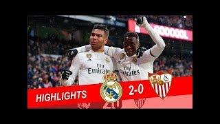 Download Video Real Madrid vs Sevilla 2-0 Highlights & All Goals - 2019 MP3 3GP MP4