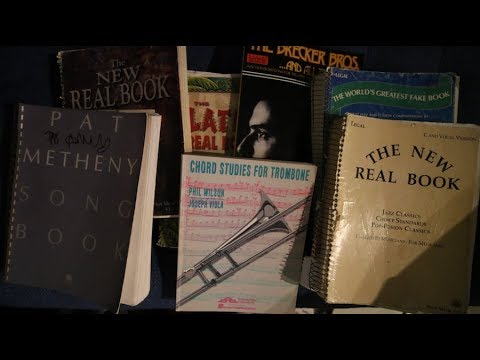 Jazz books and how to use them - Vlog #263 August 19th 2017