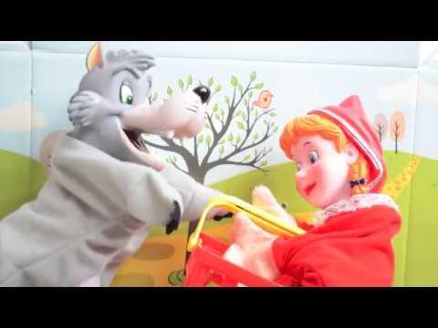 Caperucita Roja Teatro Marionetas Cuento Caperucita Roja Y El Lobo